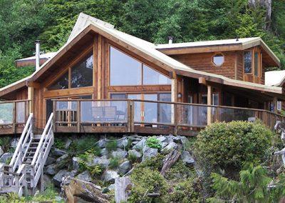 Original log cabin design