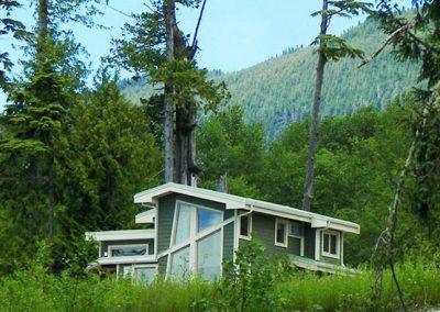 Salmon Beach homes