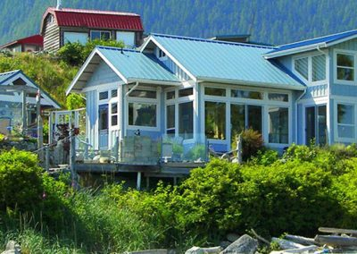 Salmon Beach homes