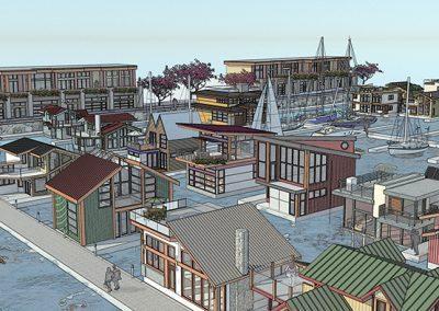 Harbour residences rendering