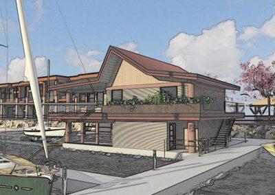 Harbour rendering