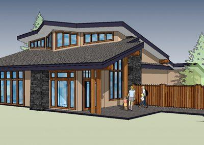 Custom community building rendering