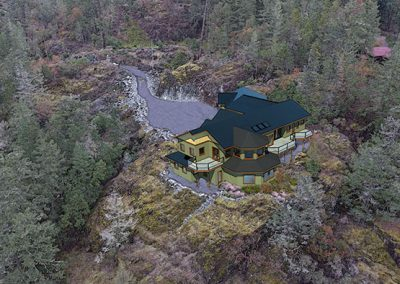 Harmless Home hillside rendering