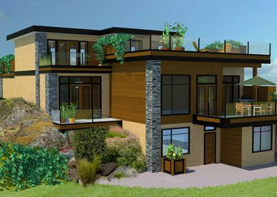Modern green building design