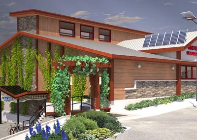 Windward Liquor Store exterior rendering