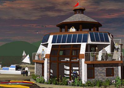 Marina building concept