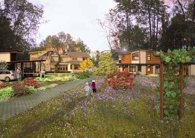 Cedar Green Neighbourhood concept