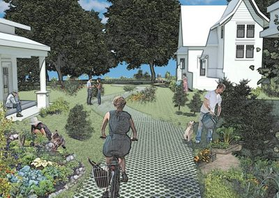 Shared green space for the community